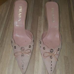Light Purple Prada Heels